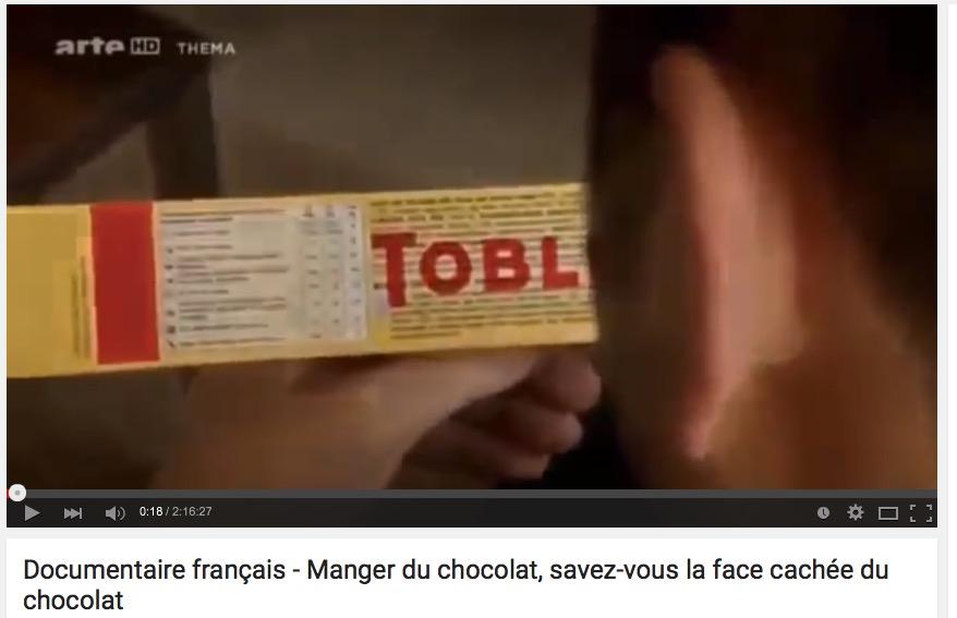 La face cachée du chocolat