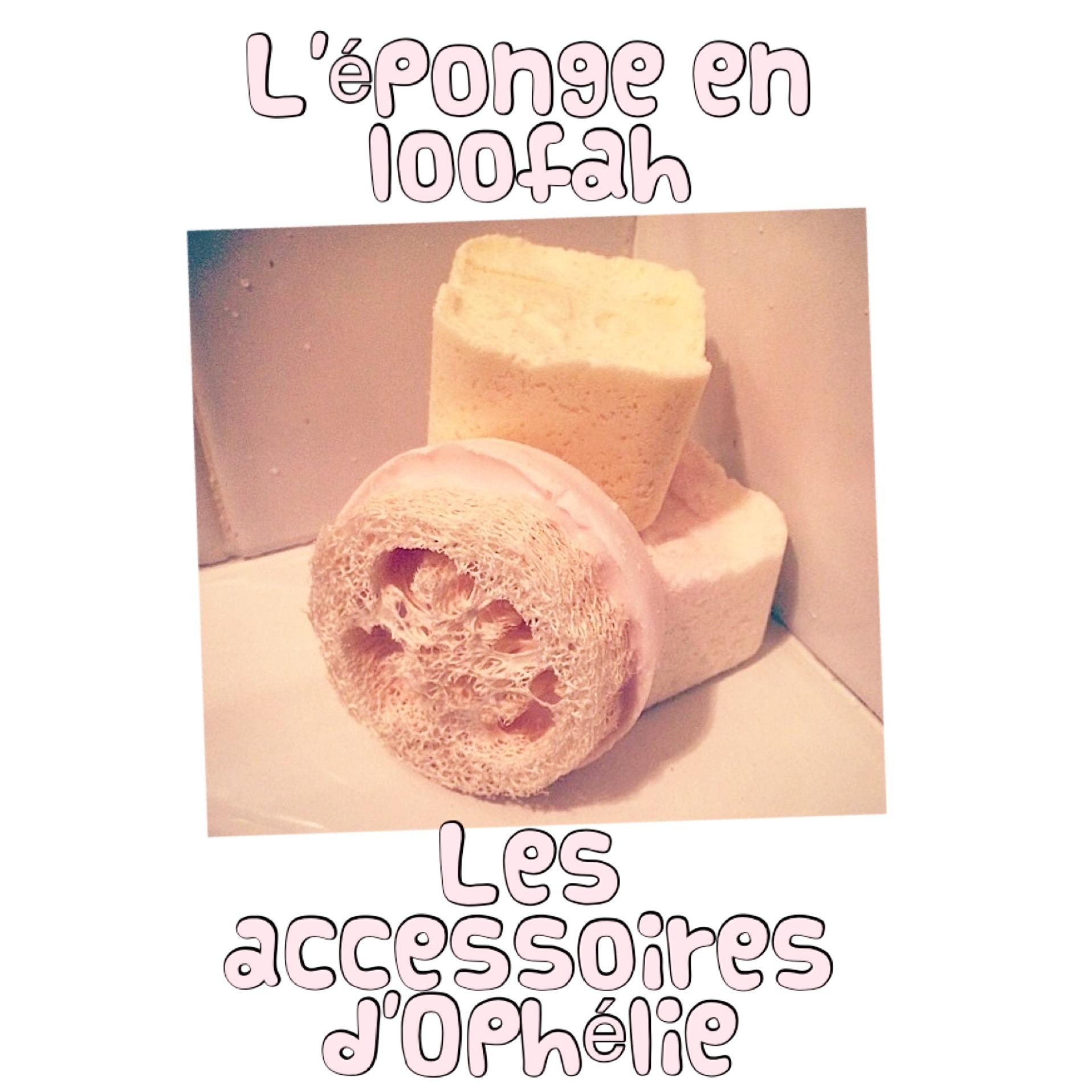 L'éponge en loofah