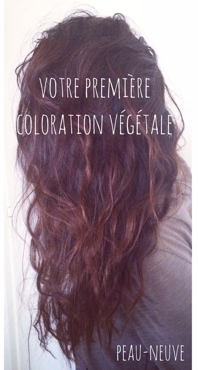 Coloration vegetale cheveux gras