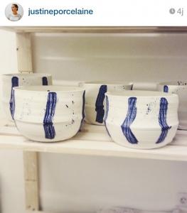 Les petites porcelaines Justine