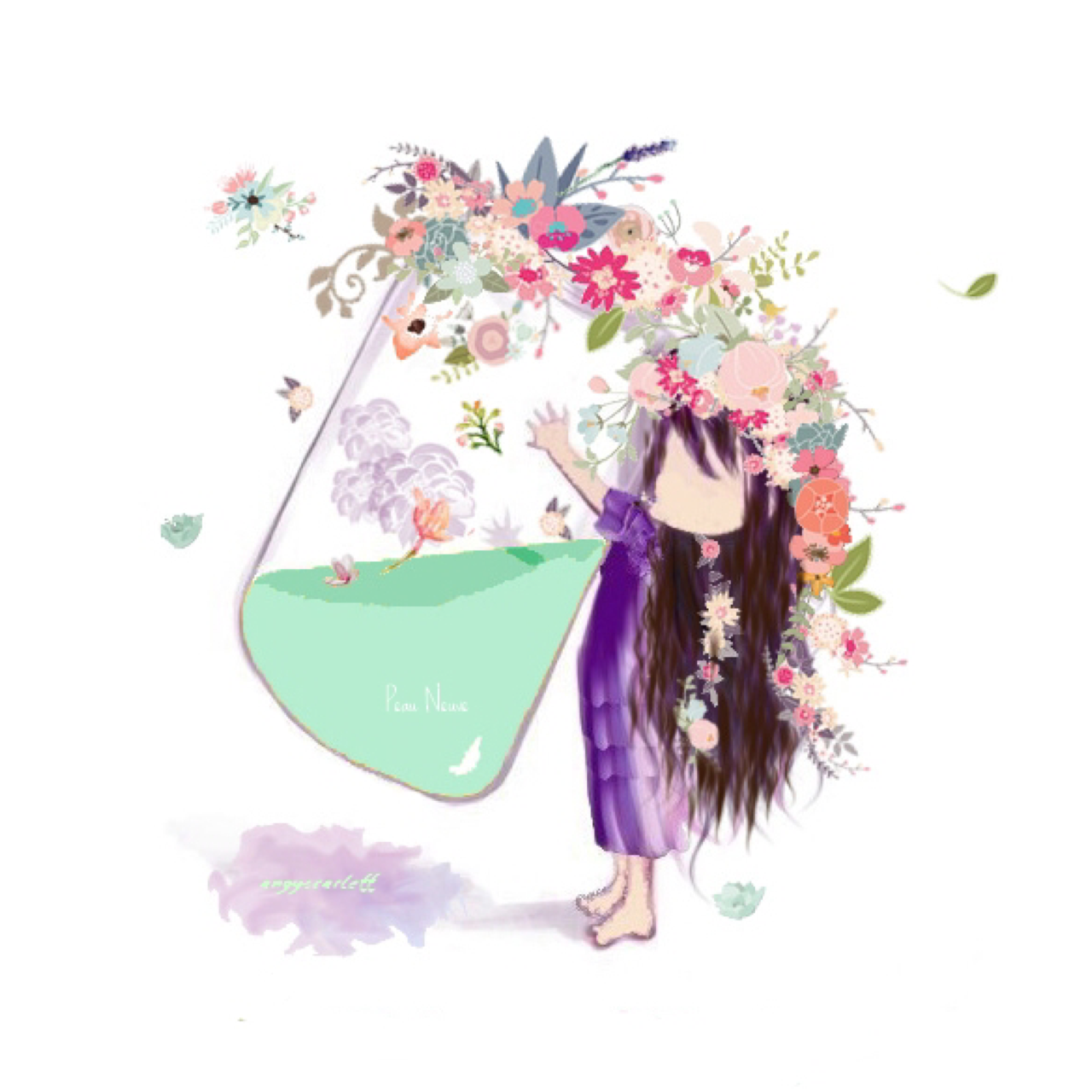Ophélie et ses accessoires – Présentation