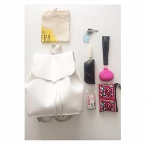 Mon sac à dos minimaliste