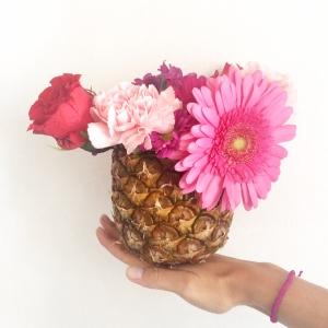 Vase ananas