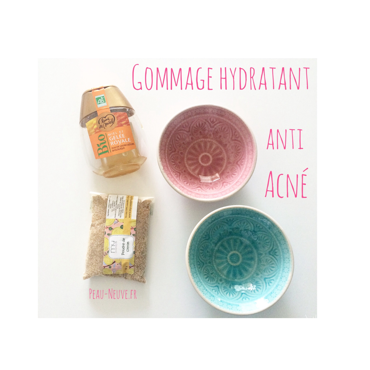 Gommage hydratant anti-acné
