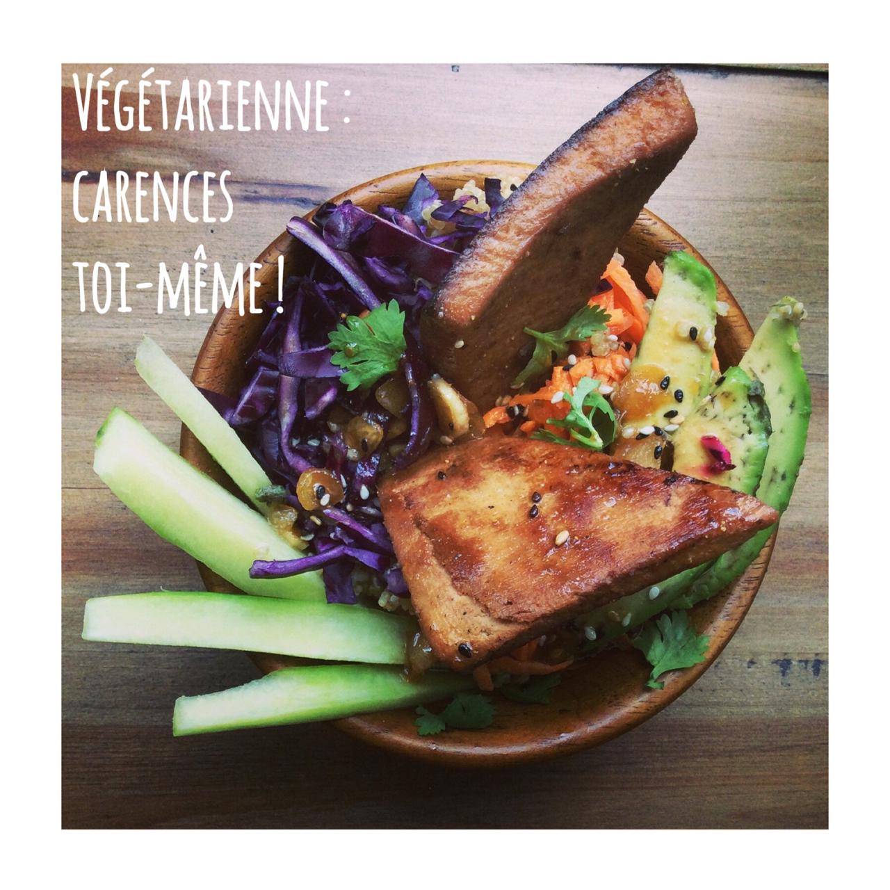 Végétarienne : carences toi-même !