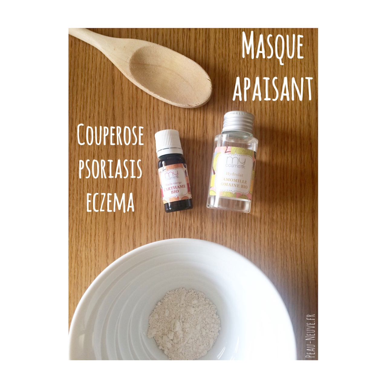 Masque apaisant #Couperose