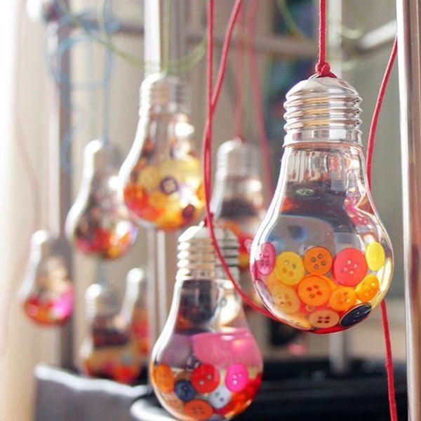 Une id e lumineuse peau neuve - Comment faire une lampe avec une bouteille en verre ...