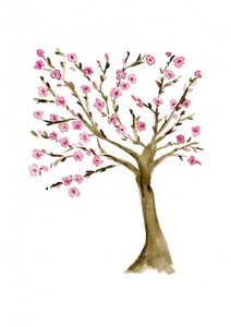arbre à fleurs