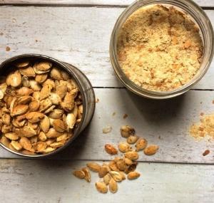 Petit épeautre & Courge Butternut Rôtie au Sirop de Datte #Alimentarienne