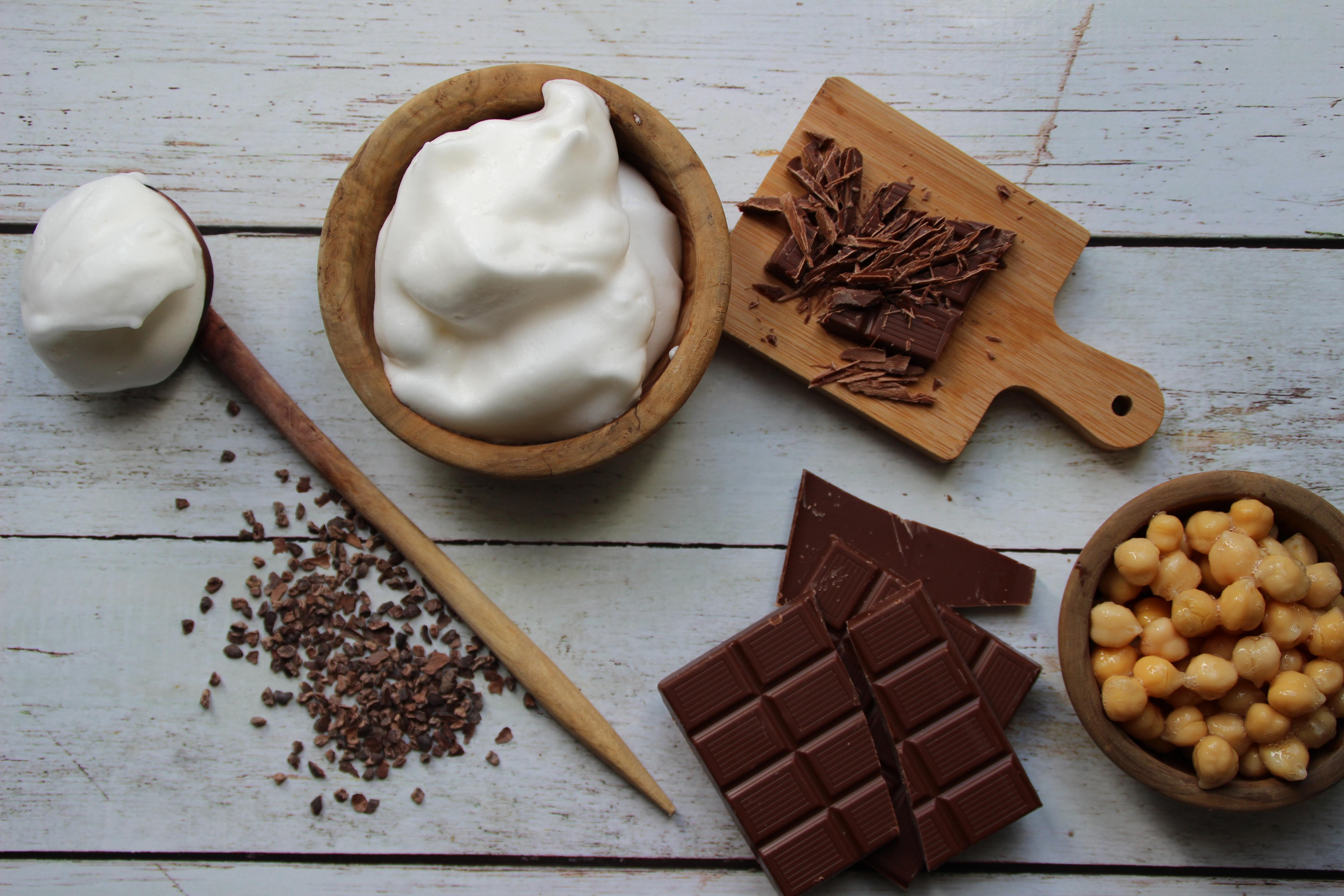 Mousse au chocolat vegan, chiche ou pas ?