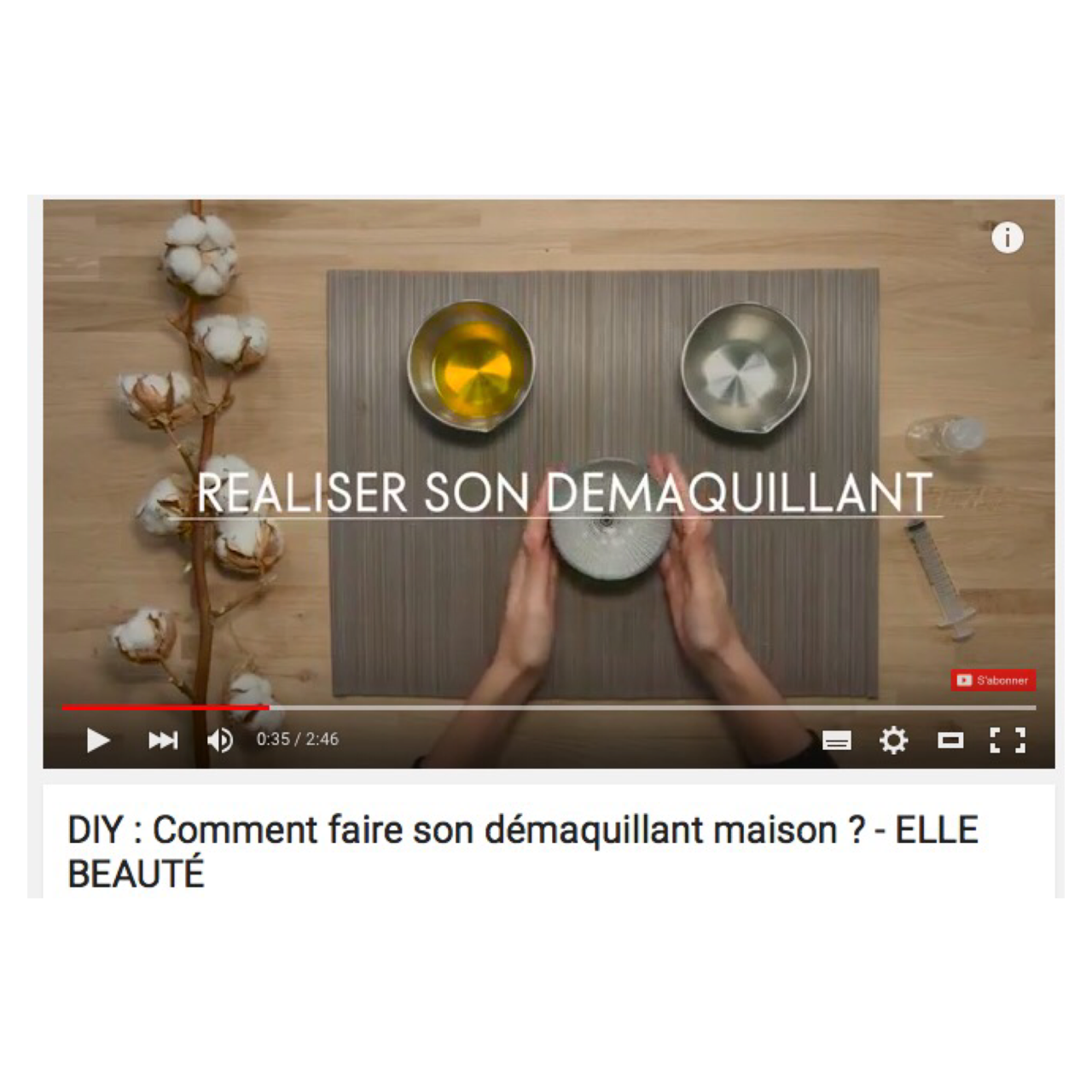 DIY : Comment faire son démaquillant maison ?