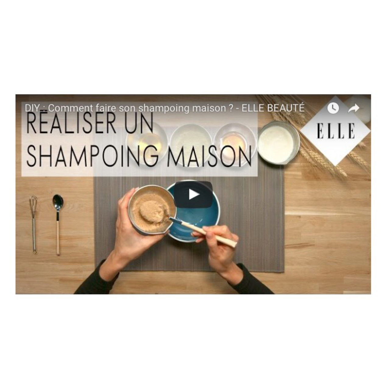 DIY : comment faire son shampoing maison ?