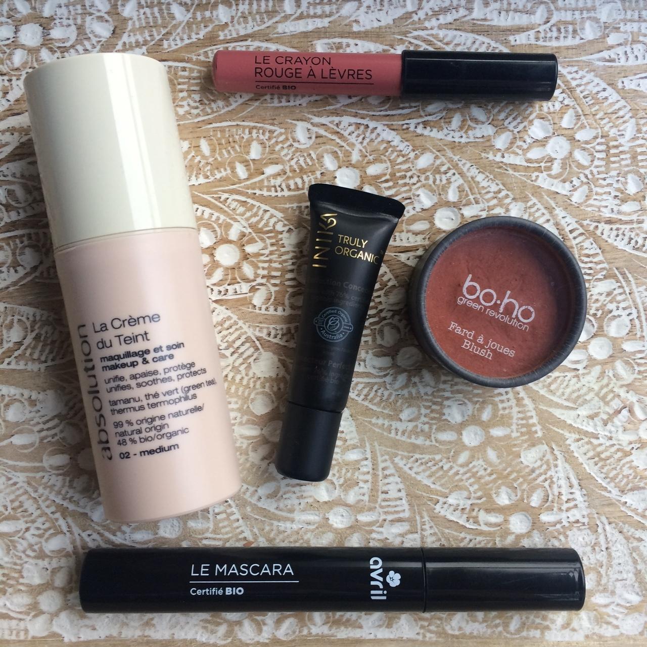 maquillage 100 naturel