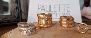 Mariage écologique bijoux Paulette à Bicyclette