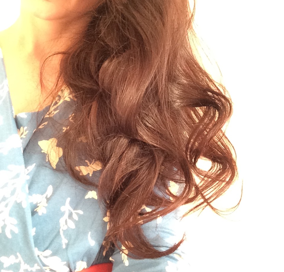 Le bonheur dans mes cheveux