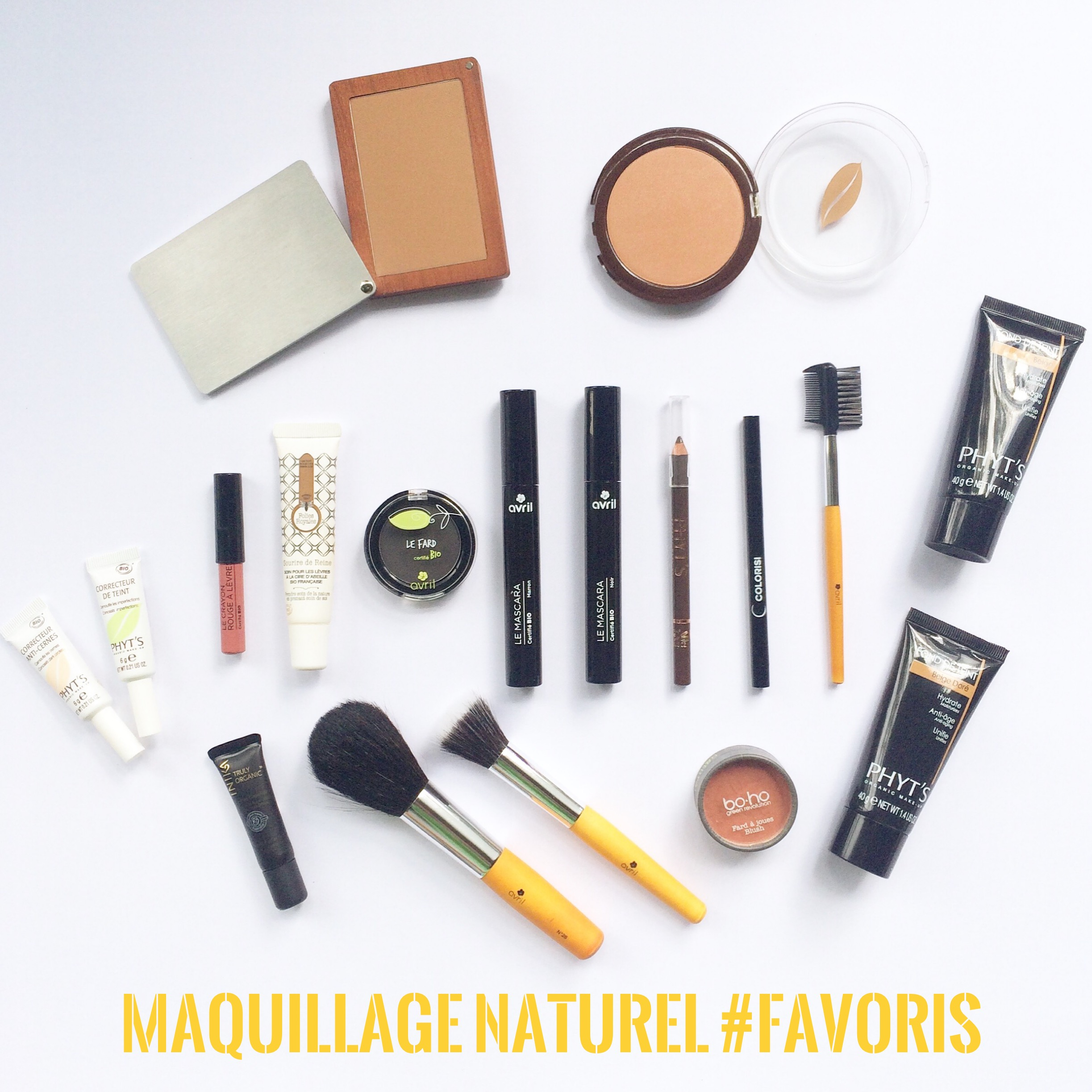 Maquillage naturel #FAVORIS