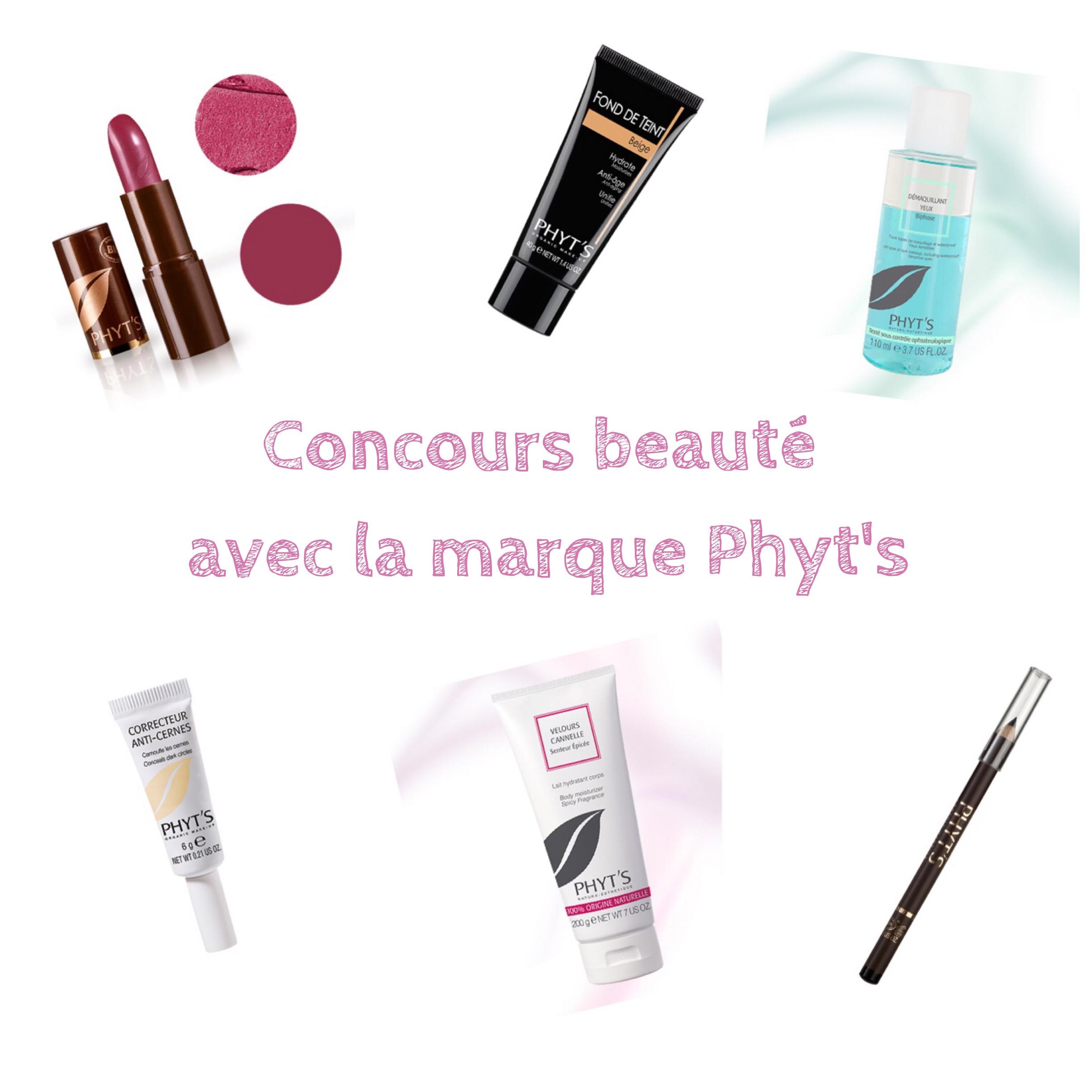 Grand concours beauté avec la marque Phyt's