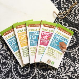 Chocolat Ethiquable Greenweez