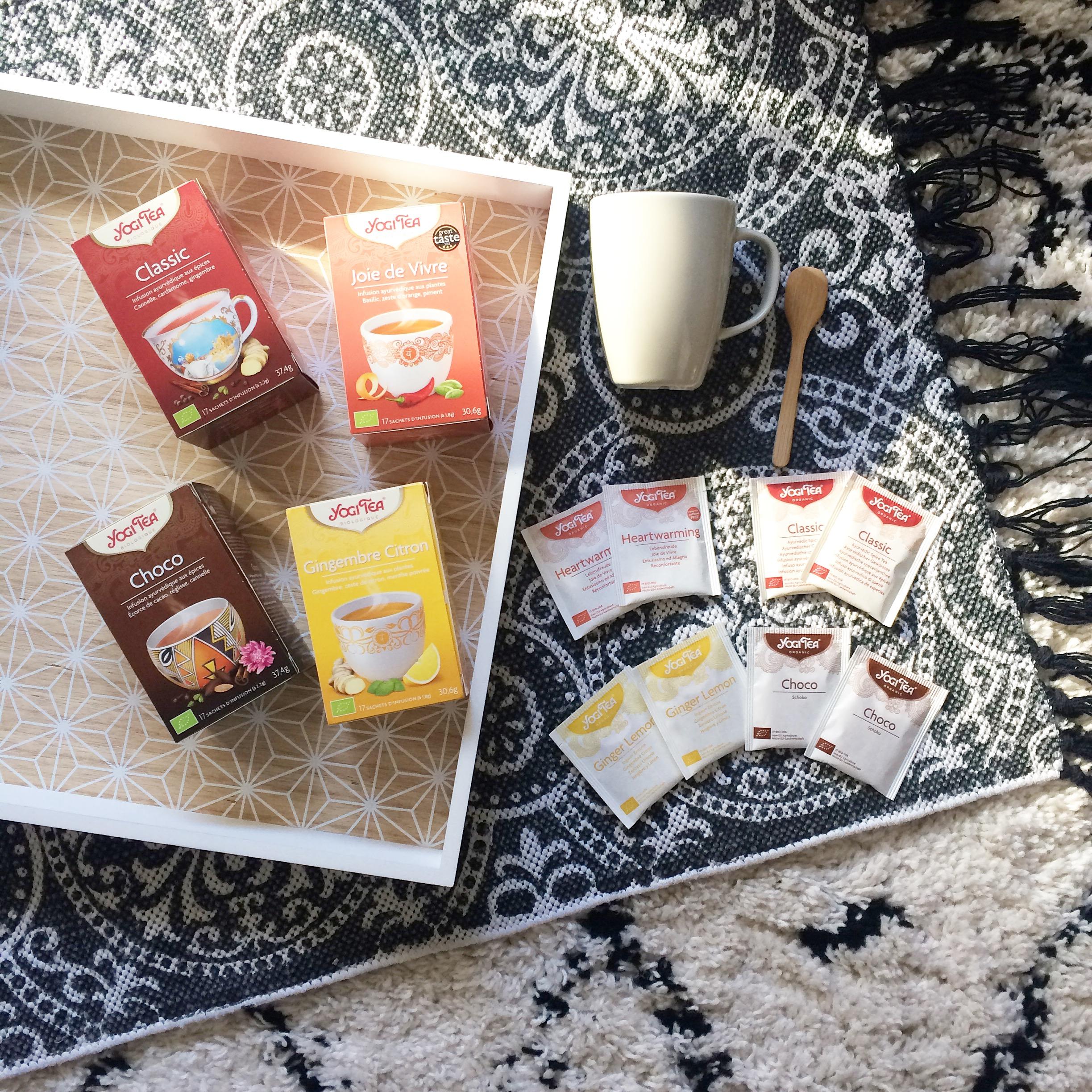 YOGI TEA, la boisson bien-être