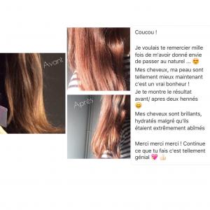 Coloration cheveux bio fait maison