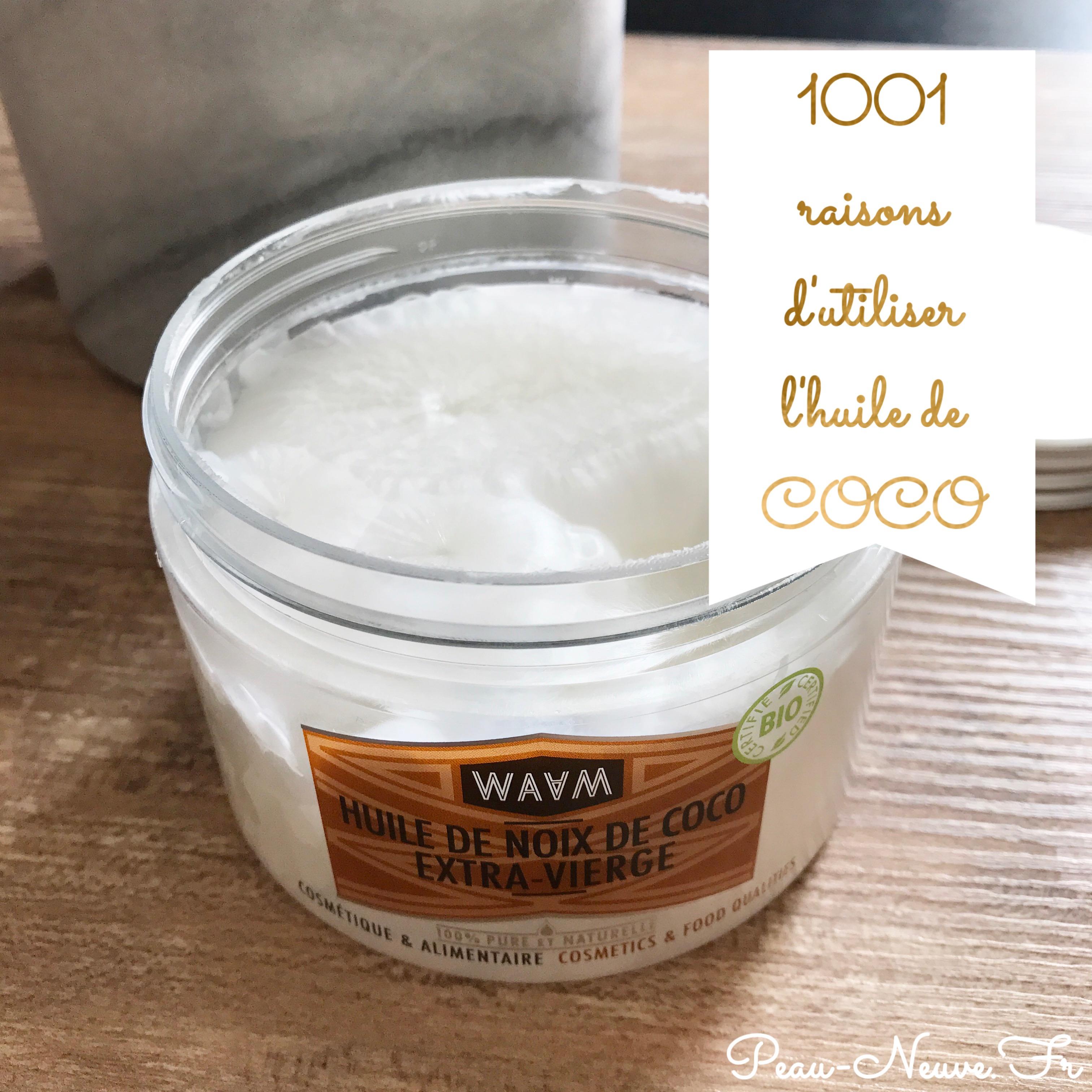 1001 raisons d'utiliser l'huile de coco