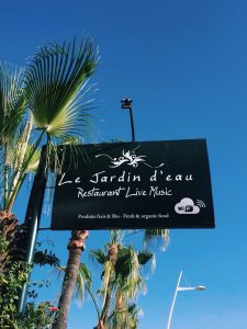 Découverte culinaire : Le jardin d'Eau Agadir