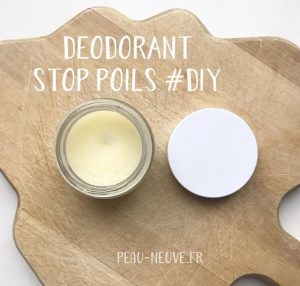 DEODORANT STOP POILS #DIY