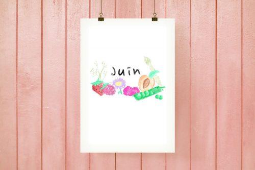 L'affiche JUIN - #PRINTABLE