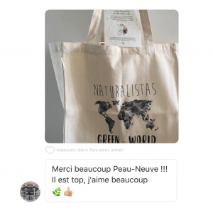 SAC CABAS NATURALISTAS GREEN THE WORLD