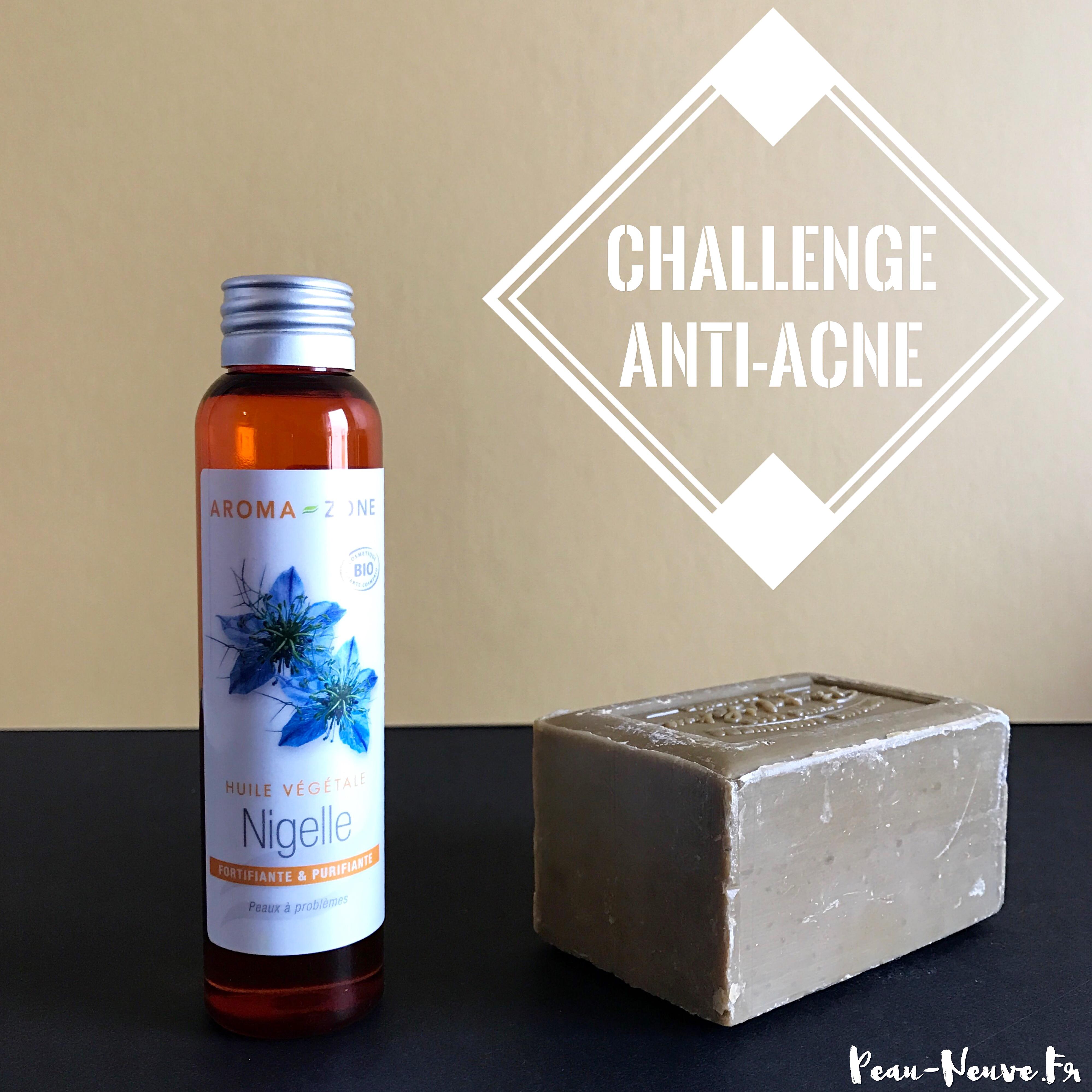 savon d'alep et huile de nigelle acne