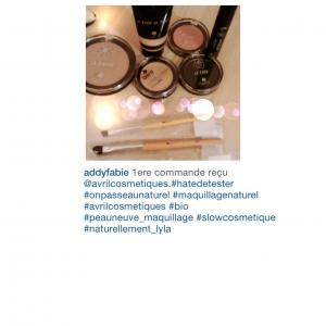 Maquillage Avril cosmétique maquillage naturel