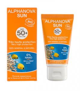 crèmes solaires BIO Alphanova
