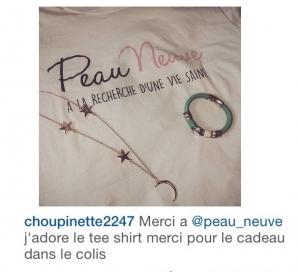 T-shirt Peau Neuve