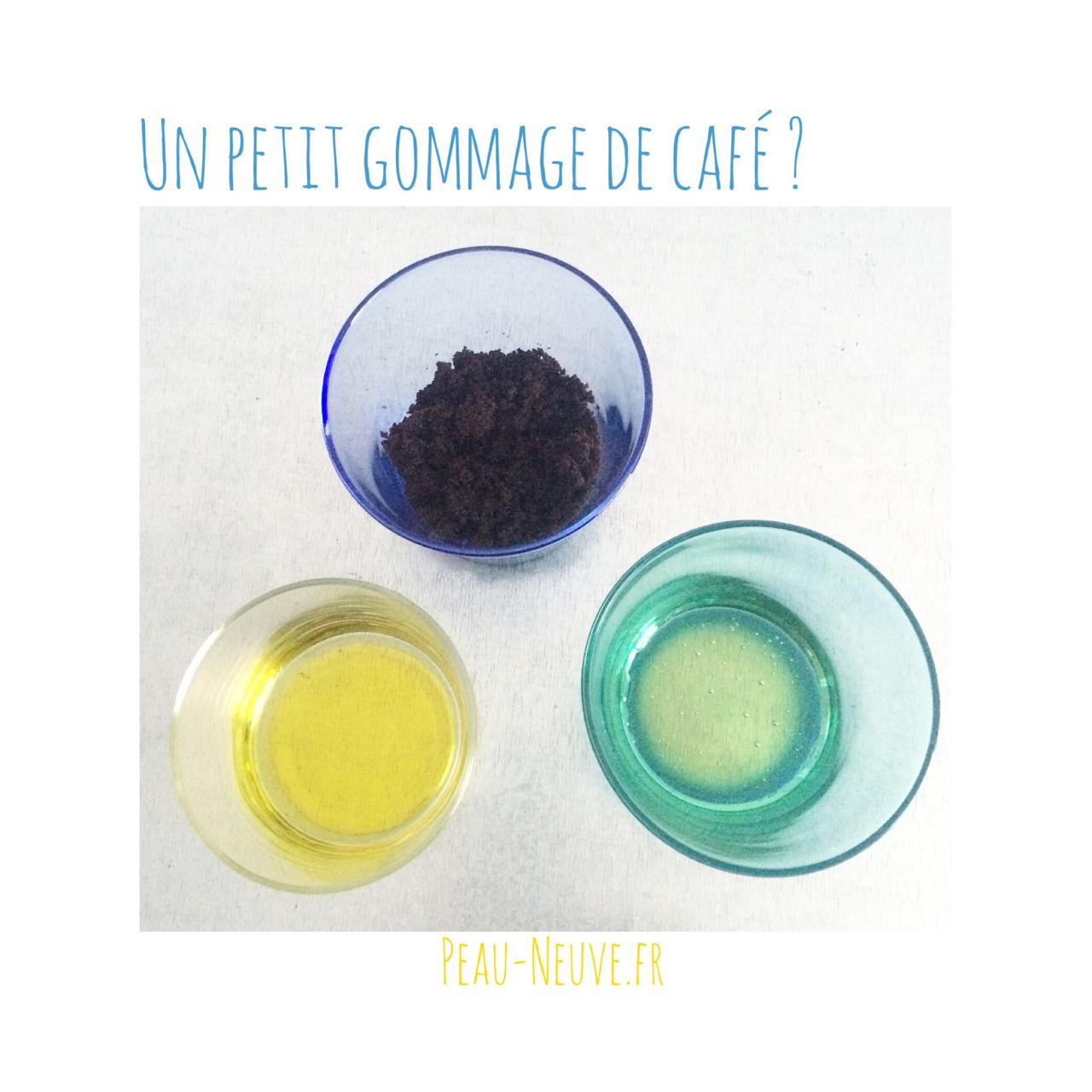 Un Petit Gommage De Cafe Peau Neuve