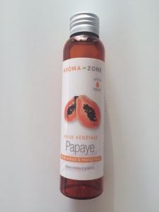 Huile végétale de Papaye