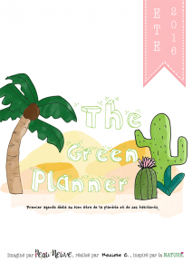 fiche produit THE GREEN PLANNER COUVERTURE copie