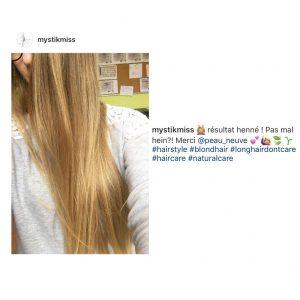 La coloration végétale et les cheveux blancs