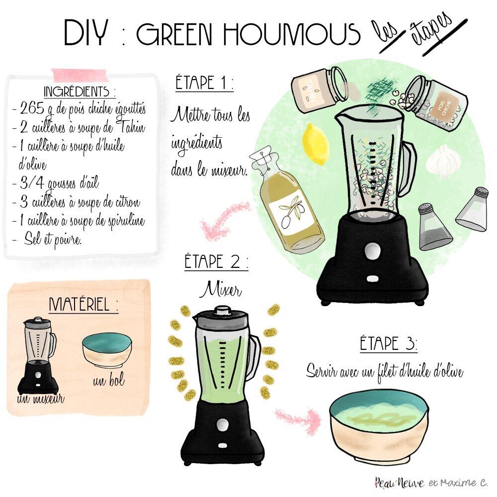 GREEN HOUMOUS