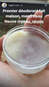 Déodorant naturel DIY Stop poil