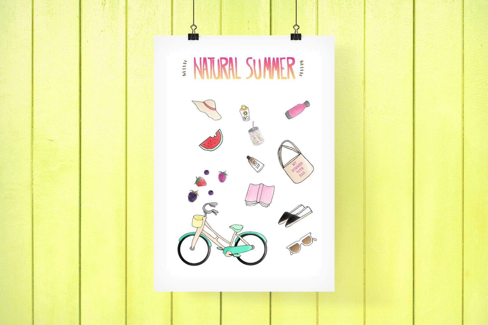 NATURAL SUMMER #PRINTABLE