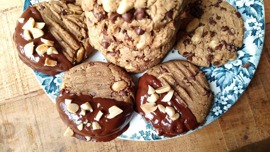 Délicieux cookies proteinés