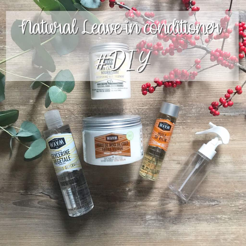 NATURAL LEAVE-IN CONDITIONER #DIY