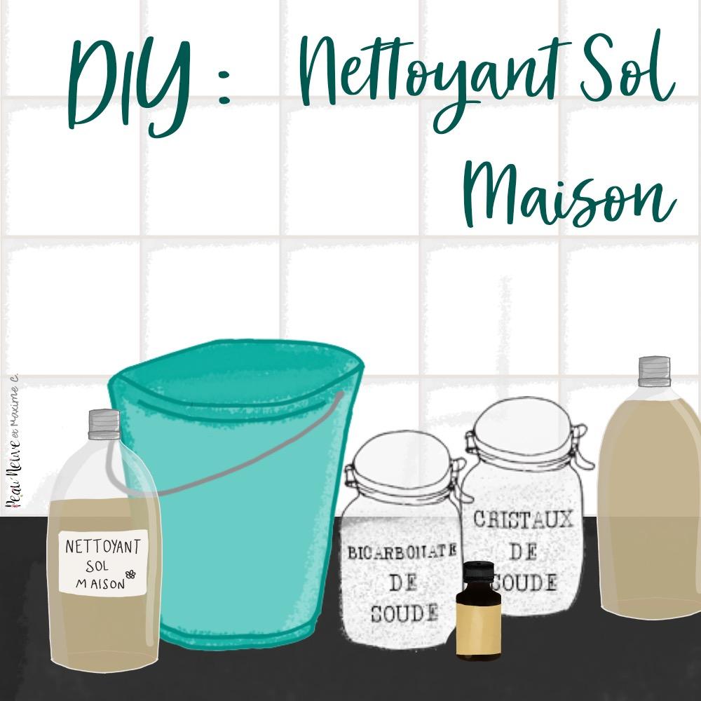 Cristaux De Soude Nettoyage nettoyant naturel pour le sol - peau neuve