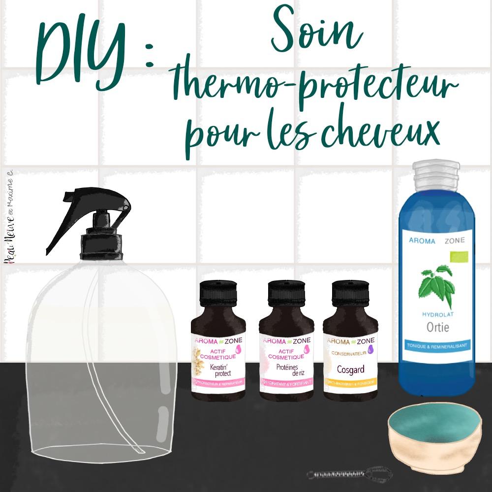 Diy Soin Thermo Protecteur Pour Les Cheveux Peau Neuve